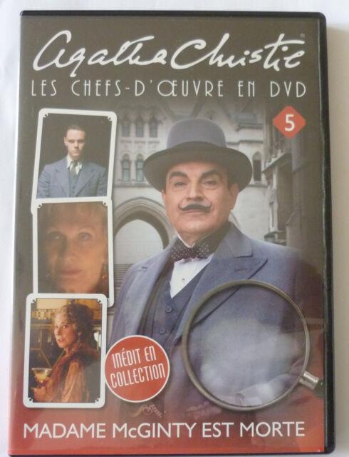 """Agatha Christie """"Les Chefs-D'oeuvre En Dvd"""" Vol.5 Madame Mcginty Est Morte"""