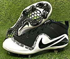 reputable site c7e80 a03df item 7 Nike Force Zoom Trout 4 Black White Metal Baseball Cleats Mens Size (917837  001) -Nike Force Zoom Trout 4 Black White Metal Baseball Cleats Mens Size  ...