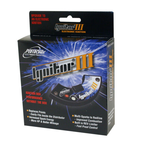 PerTronix Ignitor 3+Coil Ford V8 w//Motorcraft Single Point Distributor 71-73