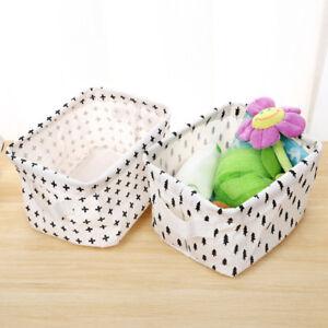 Cotton-Linen-Foldable-Laundry-Clothes-Quilt-Toy-Storage-Bag-Basket-Box-Organizer