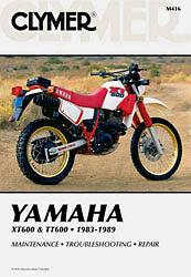 clymer repair manual fits yamaha xt600 tt600 ebay rh ebay com au