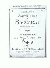 DVD 21 catalogues Baccarat St Louis Legras Markbheinn Meisenthal Val St Lambert