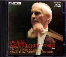 Vaclav NEUMANN: DVORAK Symphony No.9 DENON JAPAN CD 1986 Czech Philharmonic