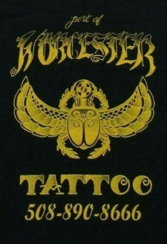 Port Of Worcester TATTOO Egyptian Beetle Tattoo St