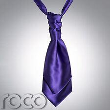 Mens Purple Cravat, Cravats for Men, Wedding Cravats, Mens wedding Cravats