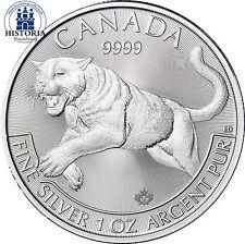Kanada 5 Dollar Silbermünze 2016 bfr Predator Serie Puma 1 oz Silber