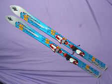 K2 Phat Luv Womens POWDER Fat SKIS 160cm w/ Marker M1000 Comp Jr. Bindings