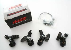 *REAR* 70MM CANTILEVER BRAKE PADS//BLOCK BLACK SHOES PAIR BICYCLE BIKE CYCLE