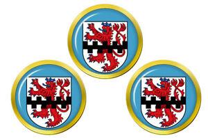 Leverkusen-Allemagne-Marqueurs-de-Balles-de-Golf
