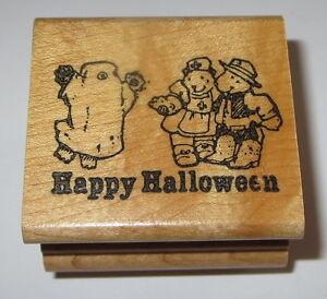 Happy-Halloween-SELLO-OSITOS-DE-PELUCHE-FANTASMA-ENFERMERA-Vaquero-pearless