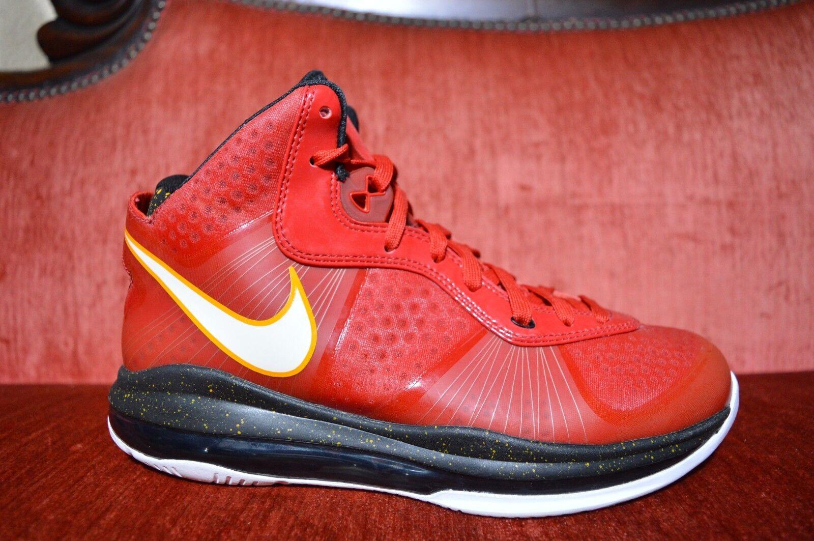 NEW Nike Air Max Lebron VIII 8 V2 Miami Heat Alternate PE Promo Sample Size 7.5