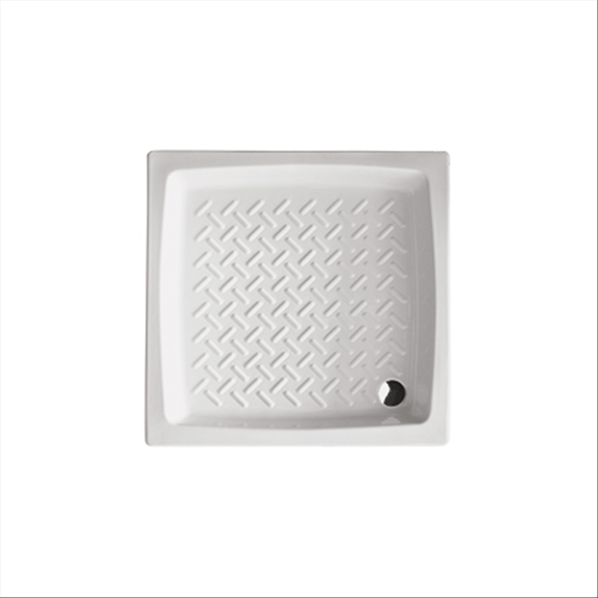 Piatto doccia h 11 cm  in ceramica Hera 80x80 quadrato Althea