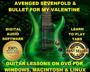 Details about Avenged Sevenfold 274 & Bullet For My Valentine 226 Guitar  TABS Lesson CD 99 BTs
