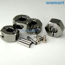 1/10 Alloy 7mm Radmitnehmer Rad Adapter Für RC 1/10 On Road Drift Hex 12mm Rims