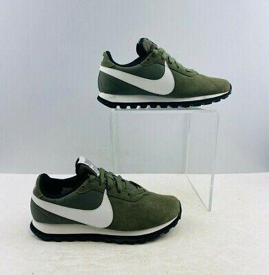 Ladies Nike Swoosh Green Lace Up