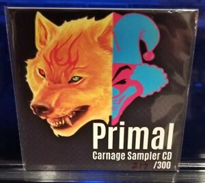 Primal-Carnival-of-Carnage-Show-Sampler-CD-insane-clown-posse-rare-ICP-limited