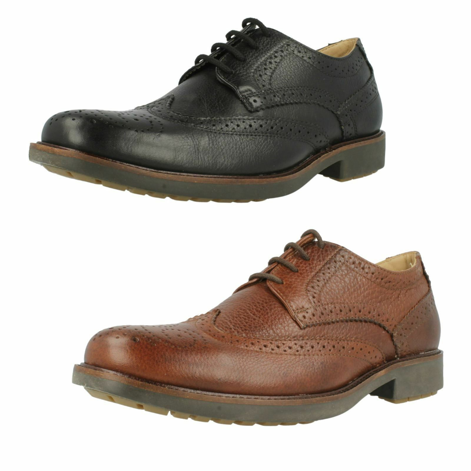 Mens Palma 909036 Black/brown Leather shoes by  Anatomic & co £115.00