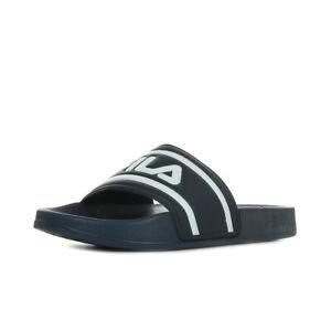 Détails sur Chaussures Claquettes Fila femme Morro Bay Slipper Wn's taille Bleu marine Bleue