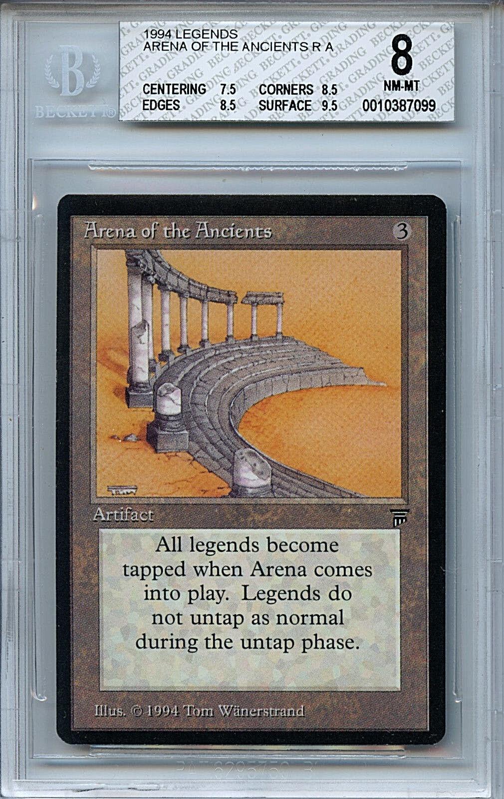 MTG Legends Arena of the Ancients BGS 8.0 (8) NM-MT Magic card 7099
