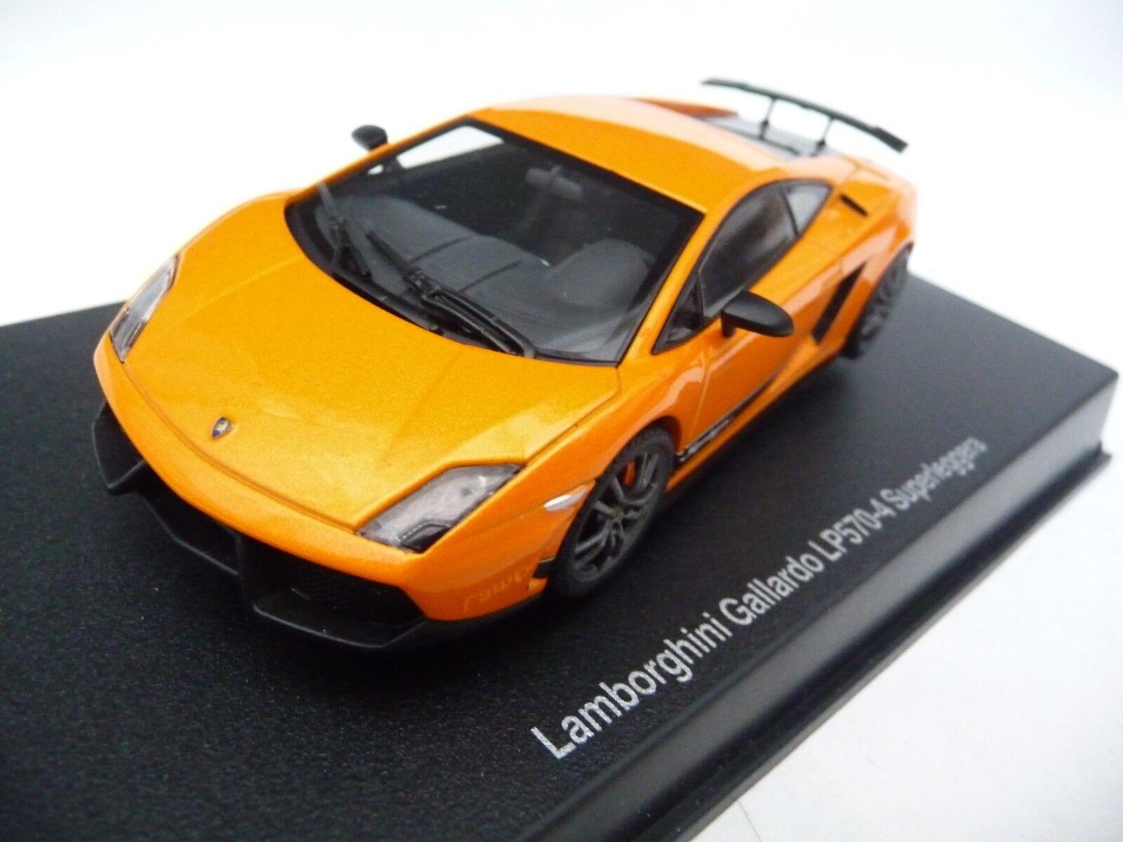 AUTOart 1 43 Lamborghini Gallardo LP570-4 Superleggera Metallic orange AA54641