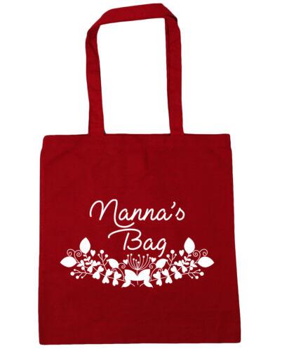10 litres Nanna/'s bag Tote Shopping Gym Beach Bag 42cm x38cm