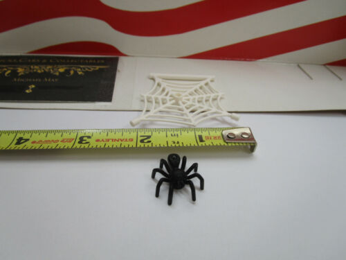 HALLOWEEN, LEGO PIRATE/'S 1 WHITE SPIDER WEB WITH BLACK SPIDER  HARRY POTTER