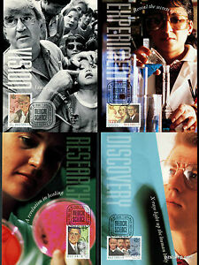 1995-Medical-Science-Maxi-Cards-Prepaid-Postcard-Maxicards-Stamps