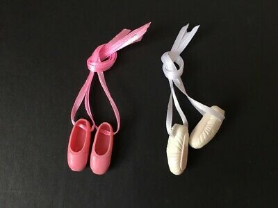 Sindy Ballet Shoes Added Ribbon Ballerina Dance Pink White Selection Shimmyshim To Invigorate Health Effectively Dolls & Bears