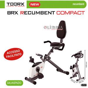 Toorx-Nuova-BRX-RECUMBENT-R-COMPACT-Accesso-facilitato-GARANZIA-24MESI