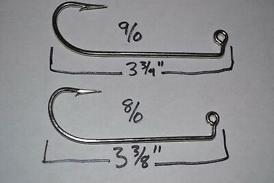 Do-It Jig Molds and Others Gold Pack of 100 #1 Matzuo 149040 Jig Hooks