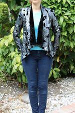 Bebe Kardashian jacket coat Velvet Sequin Jacket 171014 xs
