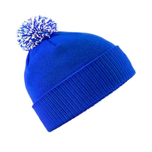 INNOMMABLES broderie Kids Beanie Wolly chapeau d/'hiver de Noël Cadeau Anniversaire Cadeau