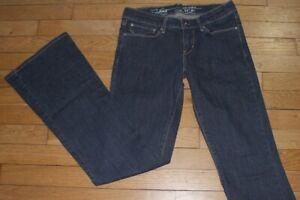 LEVIS-549-Demi-Curve-Flare-Jeans-pour-Femme-W-27-L-32-Taille-36-Ref-L043