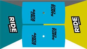 Blue MTB//Enduro//DH Hope Tech 35W Rim Decals27.5 Full Set