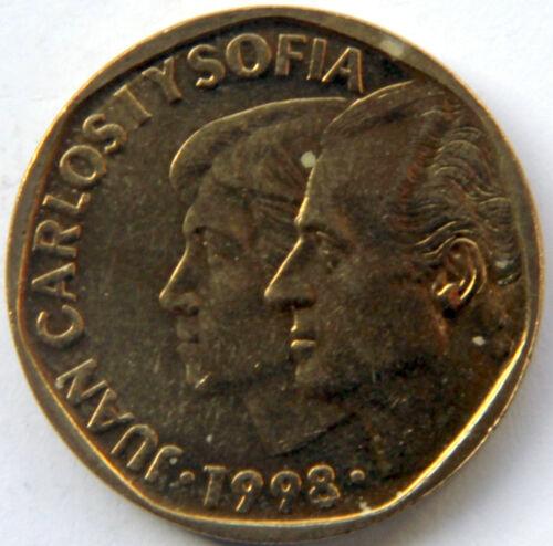SPAIN JUAN CARLOS I 500 PESETAS 1998 KM-924 MINT ROLL