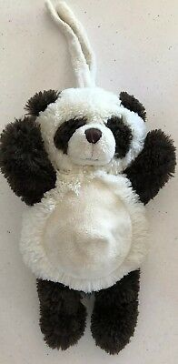 Toys (0 - 12 Months) Musical Toys Kormico Black & White Panda With Strap To Attach To Pram/cot & Musical Cord