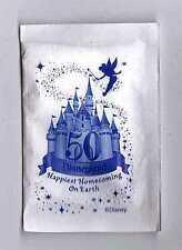 2005 Disneyland 50th Anniversary Single Park Sugar Packet Tinker Bell Disney