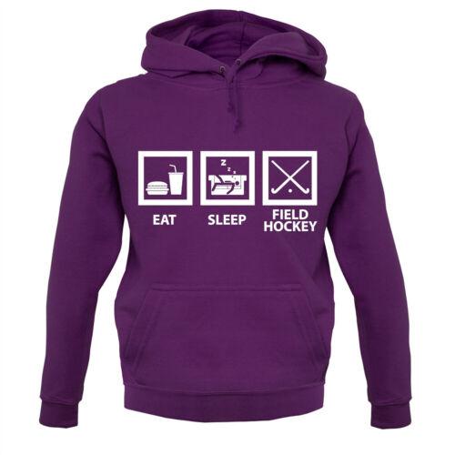Eat Sleep Champ Hockey-Sweat à Capuche//Sweat à Capuche-Player-Team-Fan SPORT-Hobby