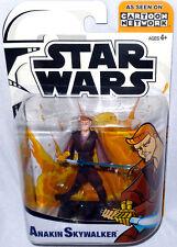 Star Wars Animated Clone Wars Anakin Skywalker Action Figure MIB Cartoon Network