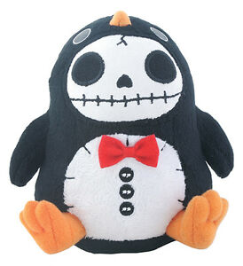 Image is loading Furry-Bones-PEN-PEN-the-Penguin-Small-Plush-  sc 1 st  eBay & Furry Bones PEN-PEN the Penguin Small Plush Skeleton in Costume ...