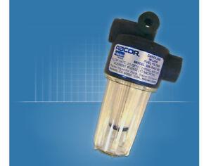Racor 025-RAC-02 Marine In-Line Gasoline Fuel Filter Water Separator