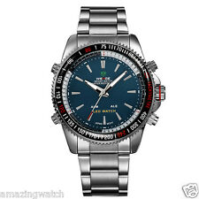 Weide Original Imported Green Dial Wh903 Analog and Digital Mens Wrist Watch