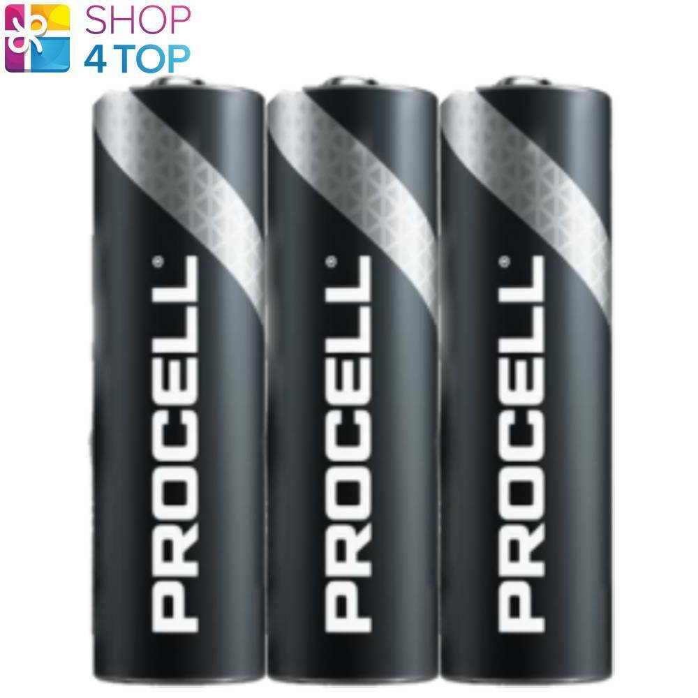 3 Duracell Procell AA Alkaline profession LR6 Batteries 1.5V EXP 2026 NEW