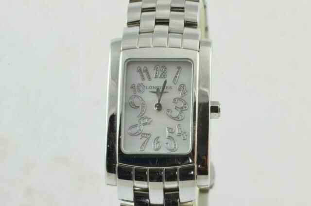 Longines Dolce Vita Women's Watch Caree 25MM White L5.502.4 Mother of Pearl Mop