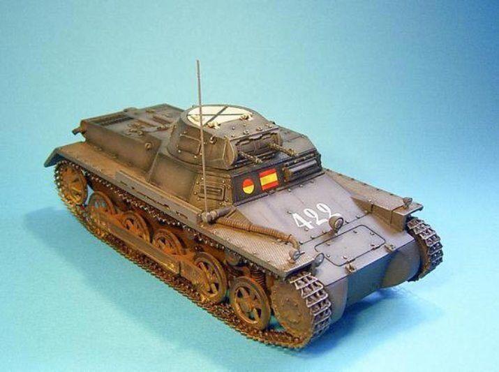 John Jenkins Spanisch Bürgerkrieg COND-02 422 Panzer 1 Ausf B Set MIB