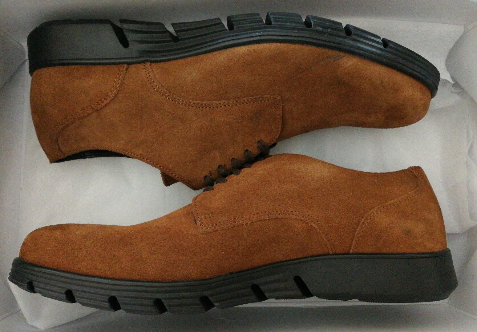 FLORSHEIM Größe Suede Lace-up Schuhe Braun Größe FLORSHEIM uk 8 eu 42 6a81dc