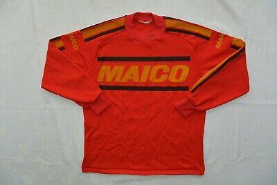 Cordiale Vintage Motocross 70's/80's Maico Pierre Karsmakers Jersey (vocabolario Elettrotecnico Internazionale)- Completa In Specifiche