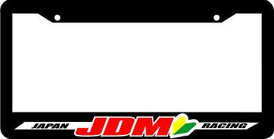 EAT SLEEP JDM wakaba leaf License Plate Frame