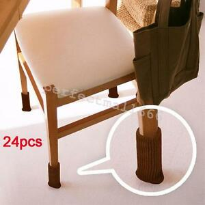 24pcs-Chair-Leg-Cover-Knitting-Sock-Floor-Protector-Furniture-Table-Feet-Pads