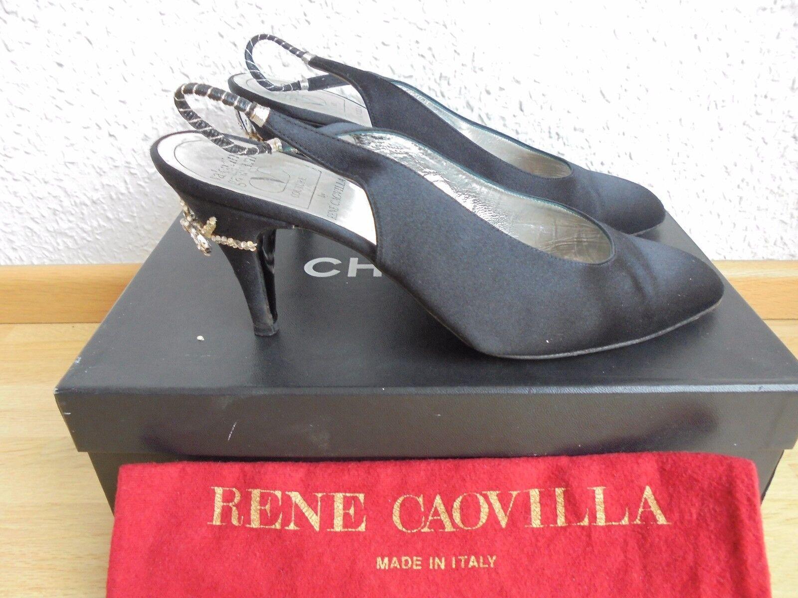Valentino Garavani by Rene Caovilla Pumps NP:  TOP Schuhe Tasche Gr. 38
